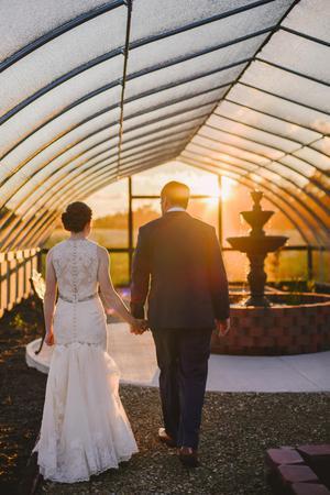 Cedar Springs Pavilion wedding Dayton
