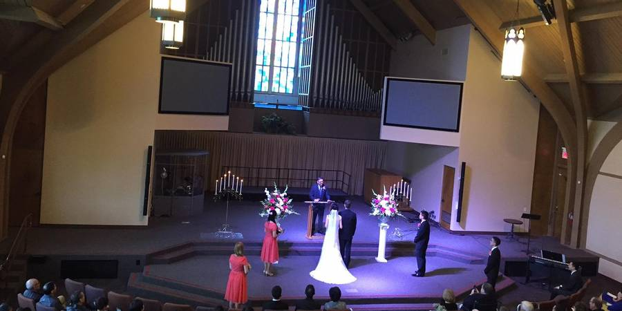 Church on the Hill wedding Inland Empire