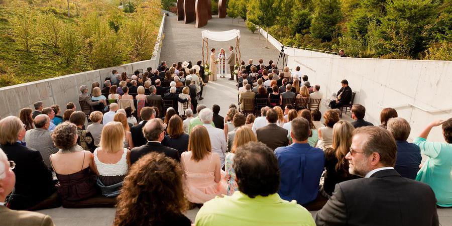 Olympic Sculpture Park wedding Seattle