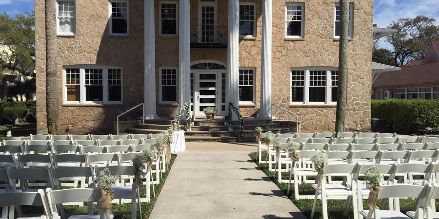 The Porcher House wedding Central Florida Beaches/Coast