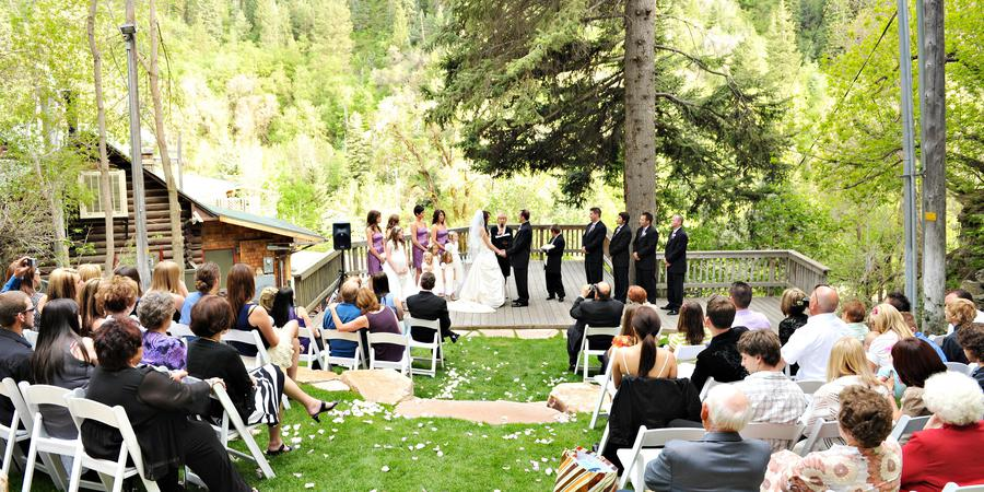 Log Haven wedding Salt Lake City
