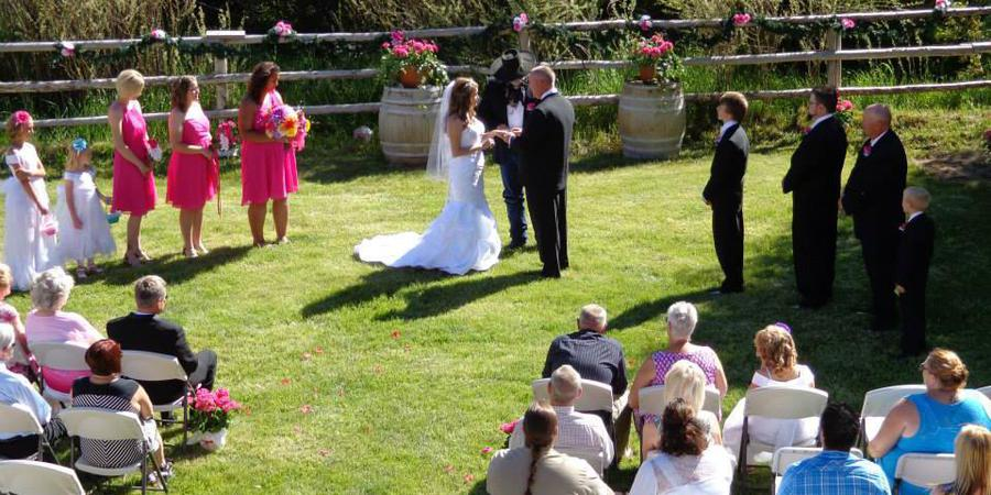 Cottonwood Guest Ranch wedding Elko