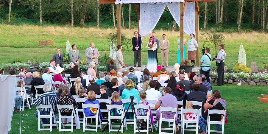 Brookstom Creek wedding Tacoma