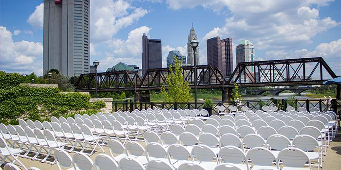 North Bank Park Pavilion wedding Columbus