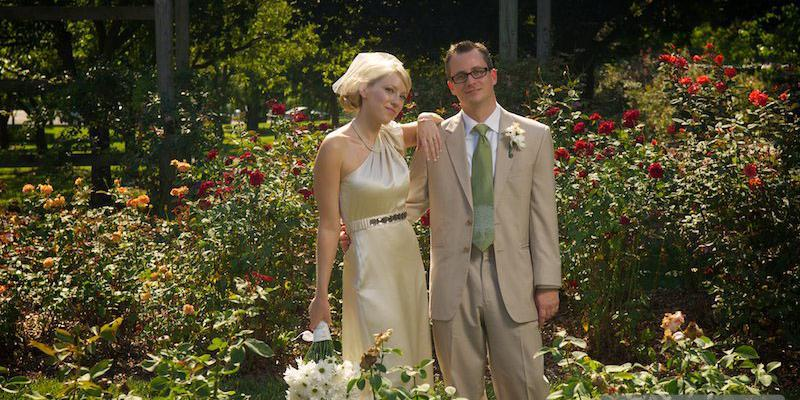 Whetstone Park of Roses wedding Columbus