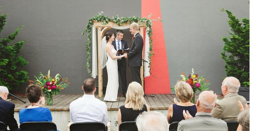 Disjecta wedding Portland
