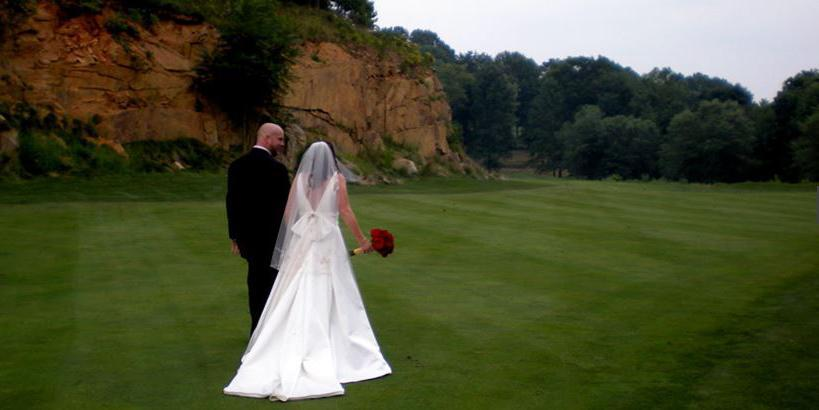 Cattail Creek Country Club wedding Baltimore