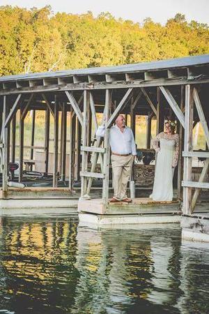 Take It Easy Resort wedding Arkansas