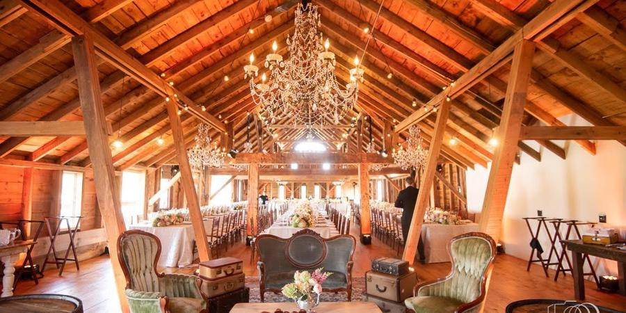 7f4e967ec5d5ed Wedding Barn at Lakota's Farm Weddings | Get Prices for Wedding ...