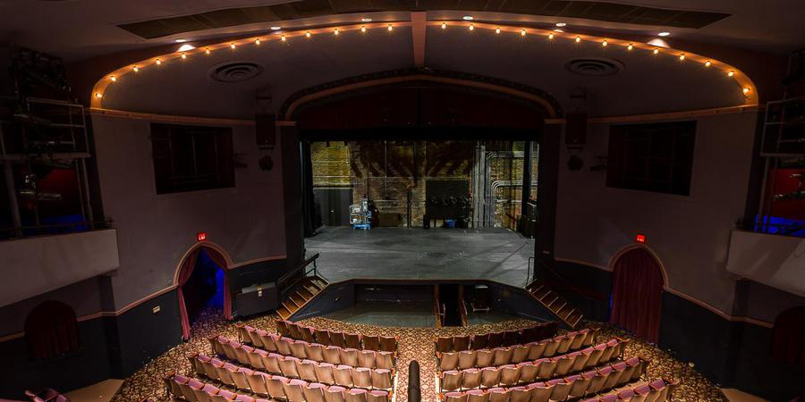 The Englert Theatre wedding Des Moines