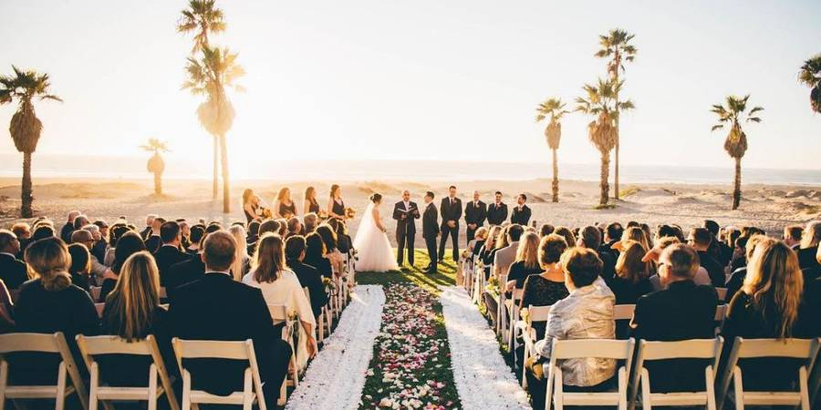 Embassy Suites Mandalay Beach Hotel & Resort wedding Santa Barbara