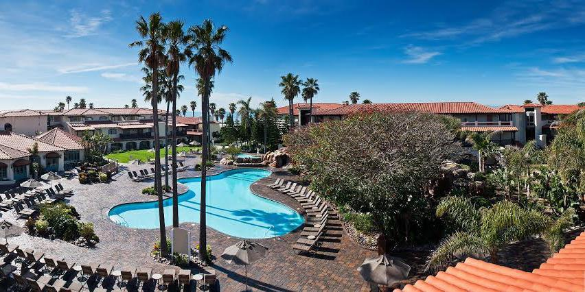 Embassy Suites Mandalay Beach Hotel & Resort wedding Santa Barbara