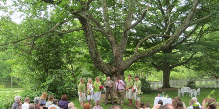 The Inn at Brandywine Falls wedding Cleveland