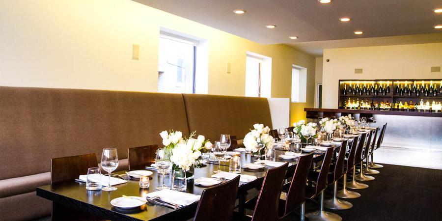 Blackbird Restaurant wedding Chicago