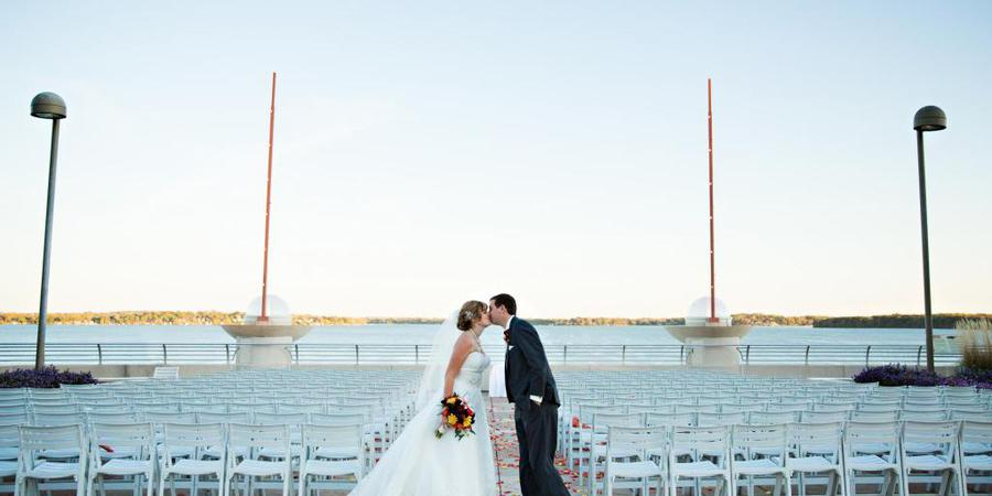 Monona Terrace Community and Convention Center wedding Madison