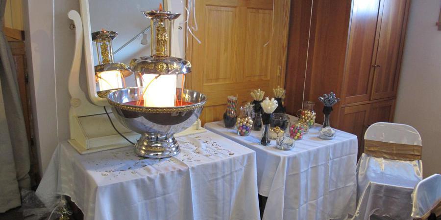 Dayemi Community Center wedding Southern Illinois
