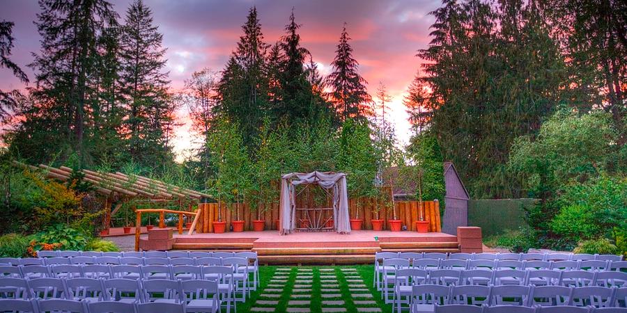 Black Diamond Gardens wedding Seattle