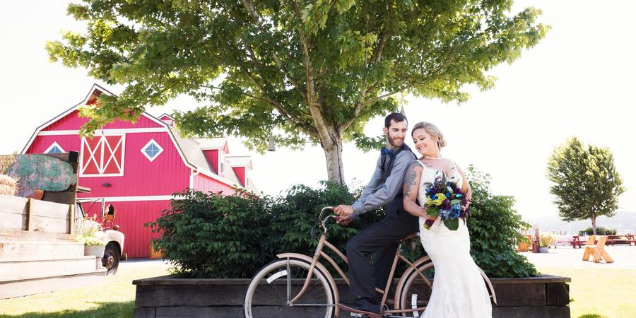 Snohomish Red Barn Events wedding Seattle