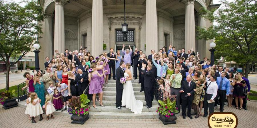 The Rotunda wedding Milwaukee