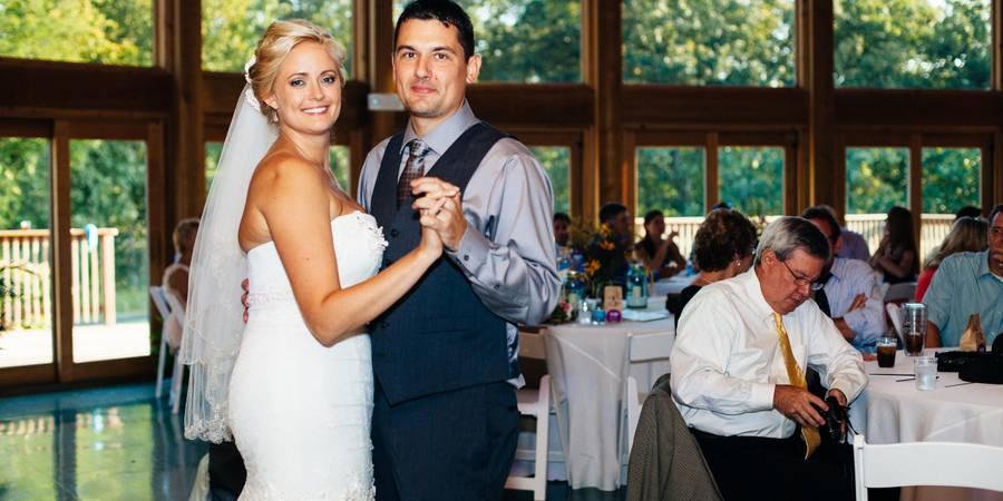 Quail Ridge Lodge wedding St. Louis