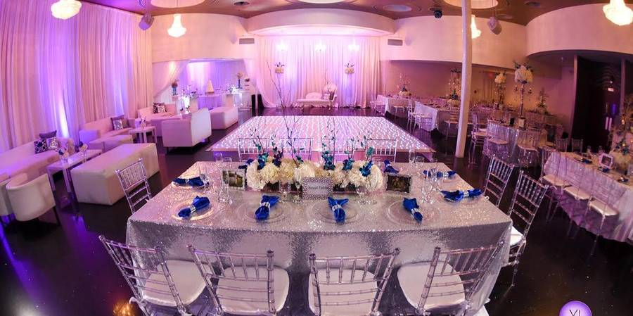 Aqua Reception Hall wedding Miami