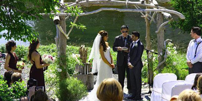 Seaside Garden House wedding Alaska