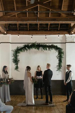 Baker Building wedding Portland