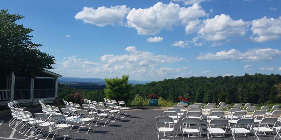 Packsaddle Ridge Golf Club wedding Charlottesville