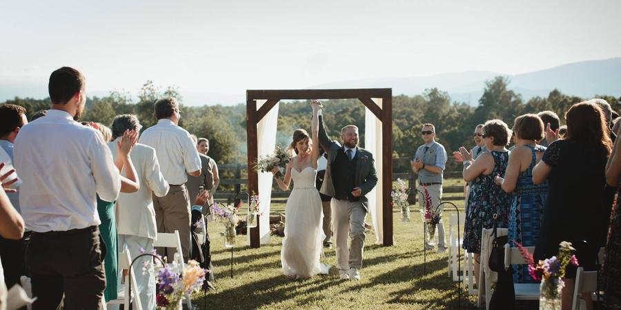 The Knight's Gambit wedding Charlottesville