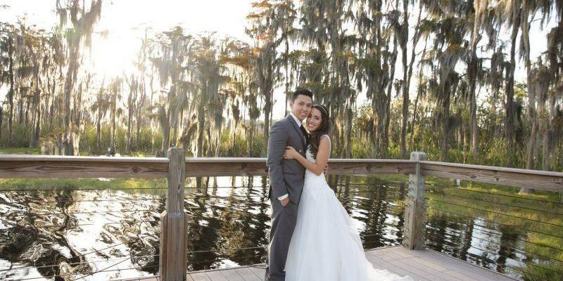 The Golden Bear Club wedding Orlando