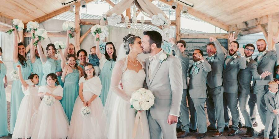 Apple Ridge Farm wedding Southwest Virginia
