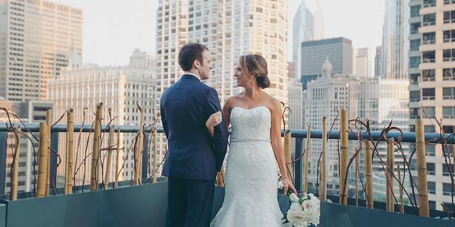 Hotel Palomar wedding Chicago