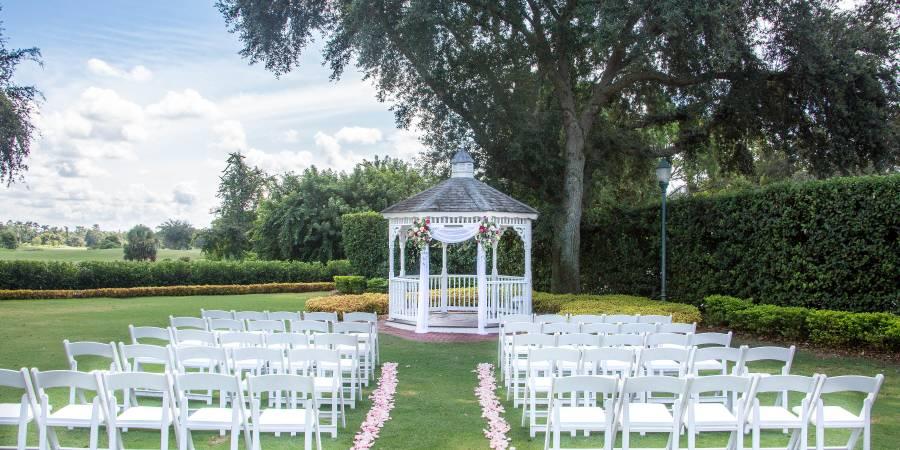 Celebration Golf Club wedding Orlando