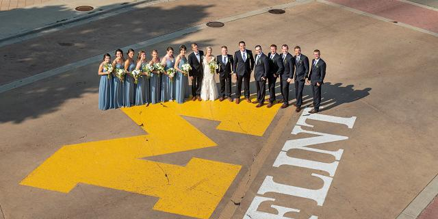 University of Michigan - Flint wedding Lansing