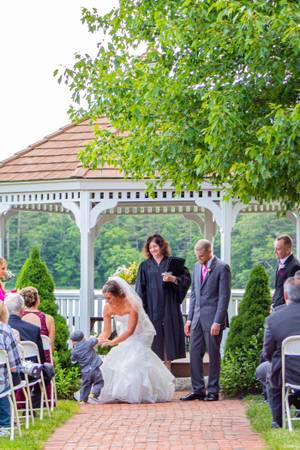 Lakeside Villa wedding South Shore