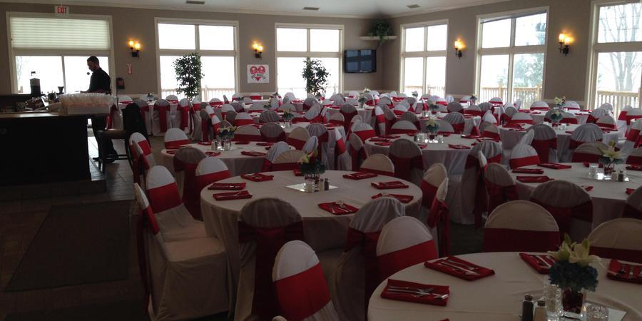 Whitmore Lake Golf Links wedding Detroit