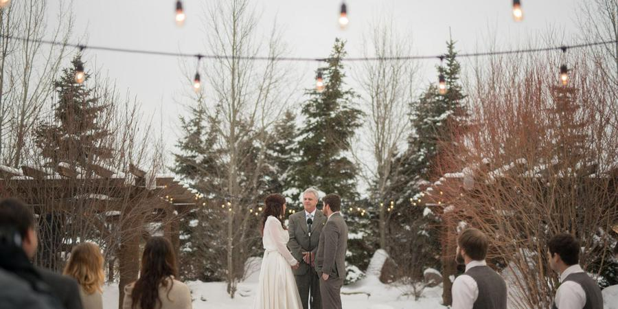 Buck's T-4 Lodge wedding Montana