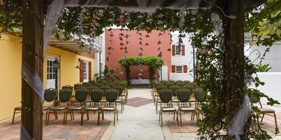 Hilton St. Augustine Historic Bayfront wedding Northwest Florida