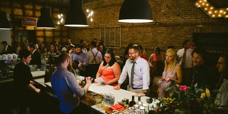 Nine-Twentynine Coffee Bar wedding Mississippi