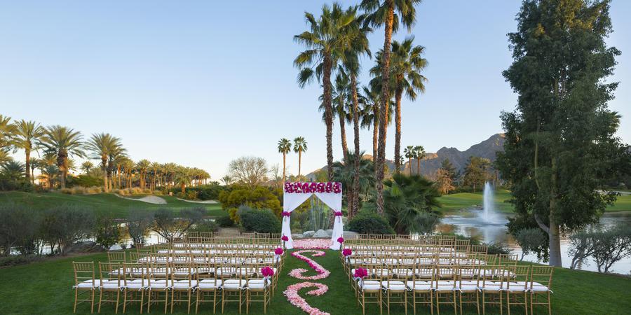 Hyatt Regency Indian Wells Resort and Spa wedding Palm Springs