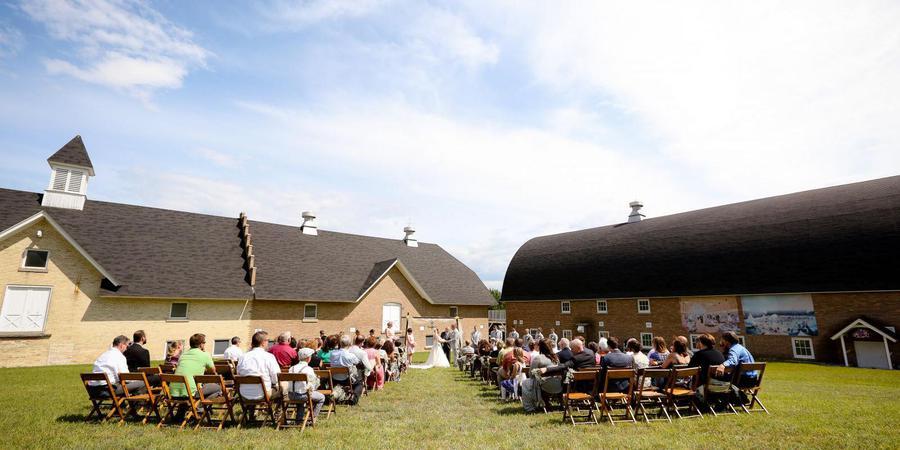The Cathedral Barn at Historic Barns Park wedding Traverse City