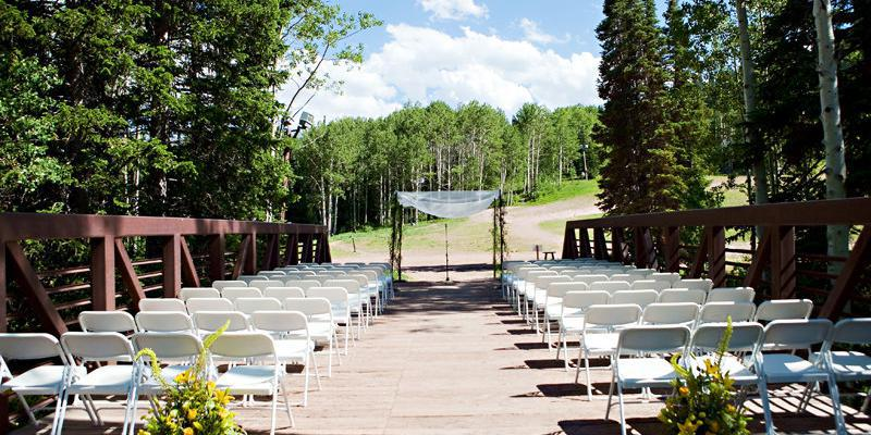 Red Pine Lodge wedding Salt Lake City