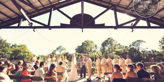 The Nyami Nyami River Lodge at Brevard Zoo wedding Central Florida Beaches/Coast
