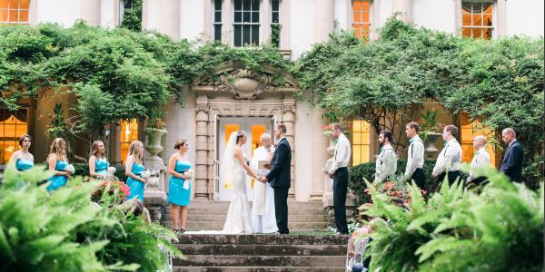The Liriodendron Foundation wedding Baltimore