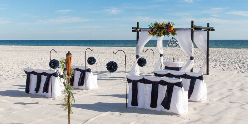 Island House Hotel wedding Southern Alabama