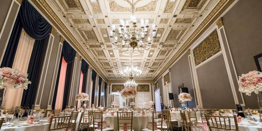Sir Francis Drake Hotel wedding San Francisco