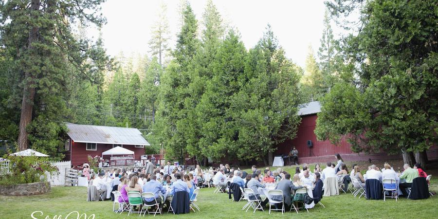 Long Barn Lodge and Event Center wedding Yosemite