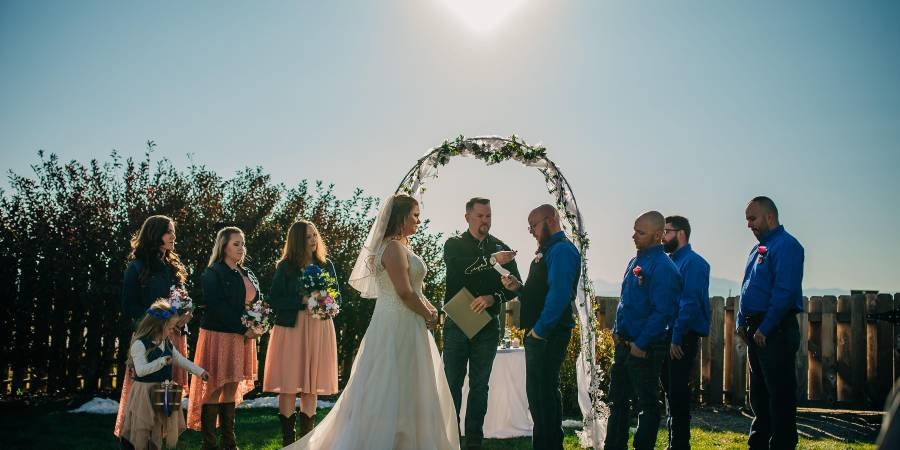 Best Western Plus Loveland Inn wedding Denver