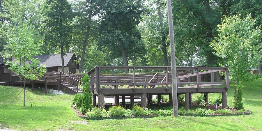 Lucerene Park Amphitheater wedding Northeast Indiana