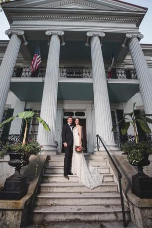 Chatillon-DeMenil Mansion wedding St. Louis